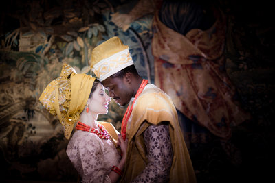 Nigerian Groom, Iranian Bride Romance Session, DC