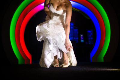 Ripley's Aquarium Wedding Portrait Photo Myrtle Beach