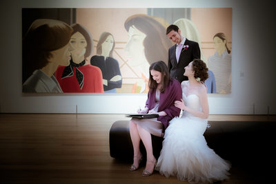 Raleigh Wedding Photographer NC Museum of Art