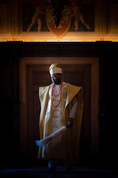 Nigerian Groom Portrait, Anderson House, Washington DC