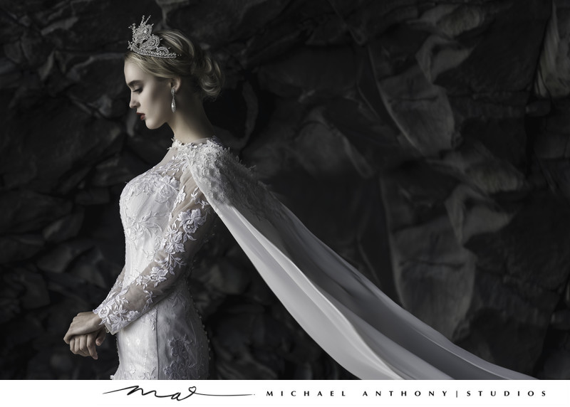 Iceland Caves Wedding Photographer Black Sand Beach
