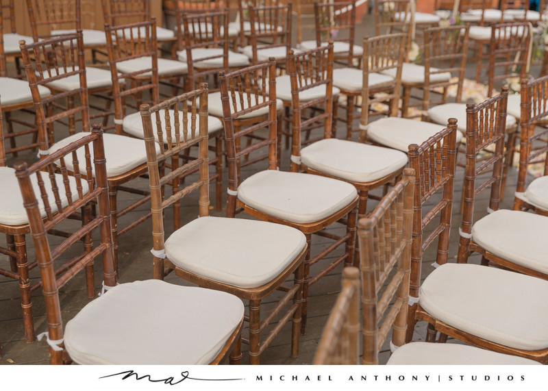 Calamigos Ranch Wedding Chivari Chairs