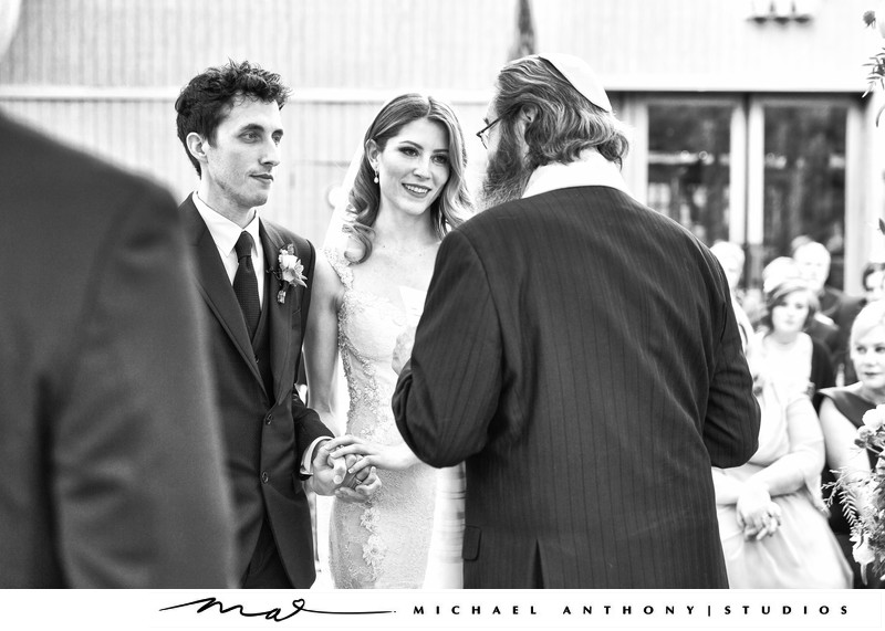 Calamigos Ranch Wedding Oak Room Hebrew Ceremony Photos