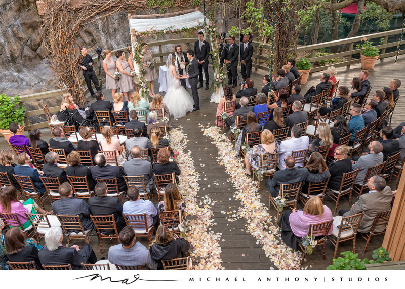 Calamigos Ranch Wedding Oak Room Ceremony Picture Ideas