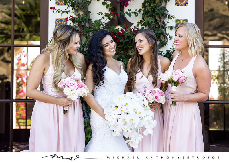 Hummingbird Nest Ranch Bridesmaids Portraits