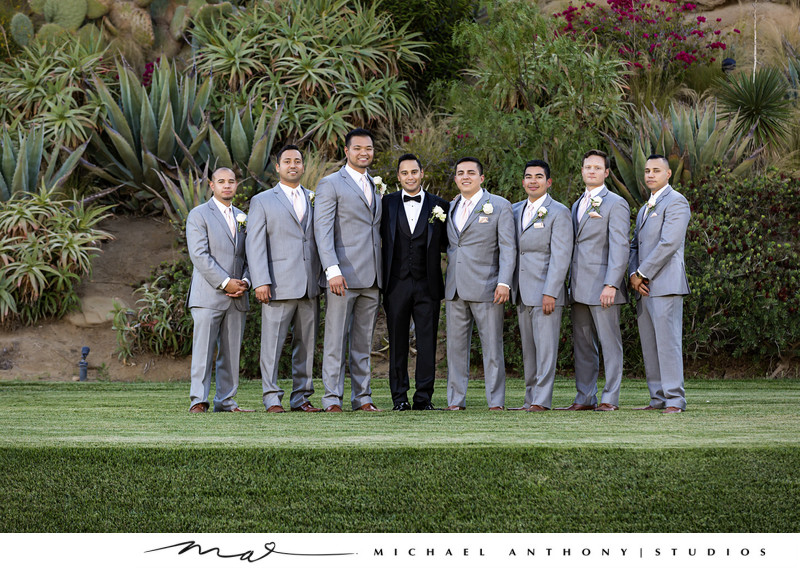 Hummingbird Nest Ranch Groomsmen