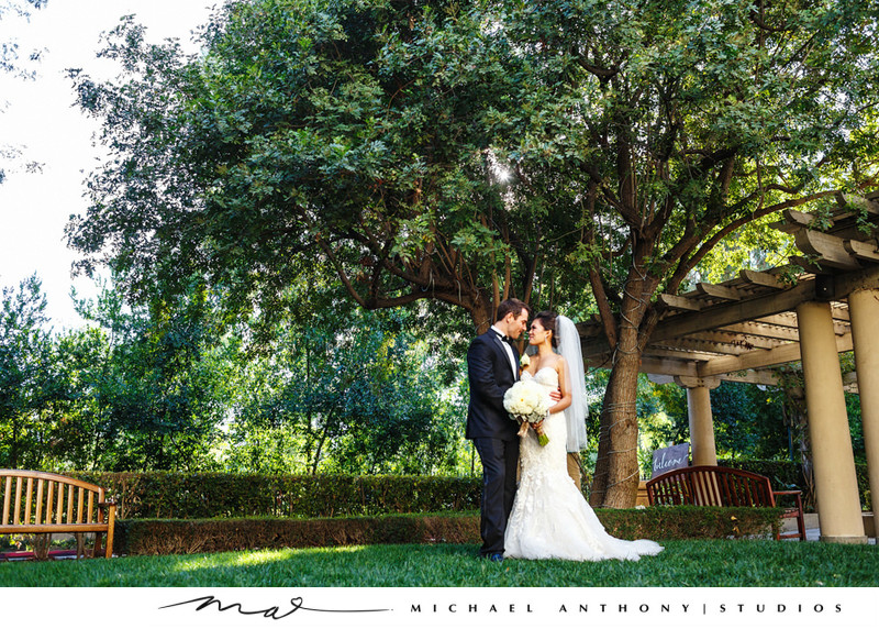 Hyatt Regency Valencia Rose Garden Wedding