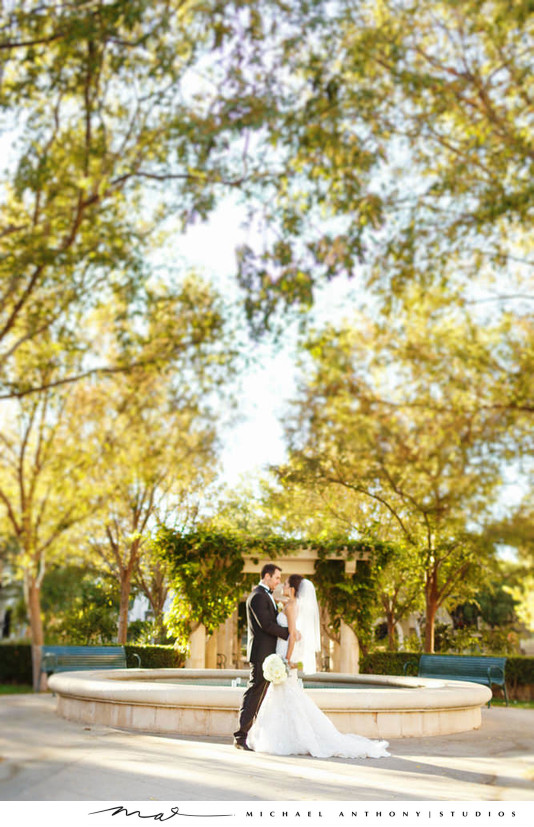 Hyatt Regency Valencia Bride and Groom Couples Photos