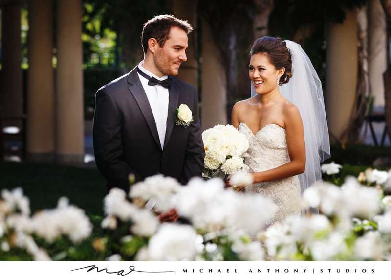 The First Look at The Hyatt Valencia Wedding