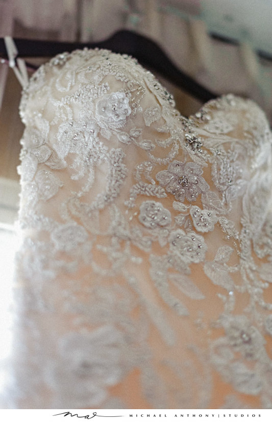 Wedding Lace at Hyatt Valencia