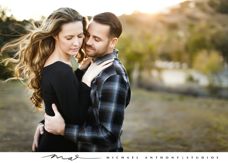 Natural Light Engagement Session at O Melveny Park