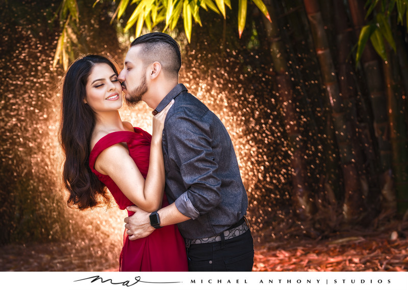 LA Arboretum Engagement Session Arcadia