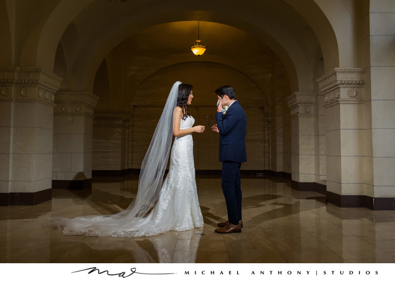 First look at Majestic Downtown Wedding