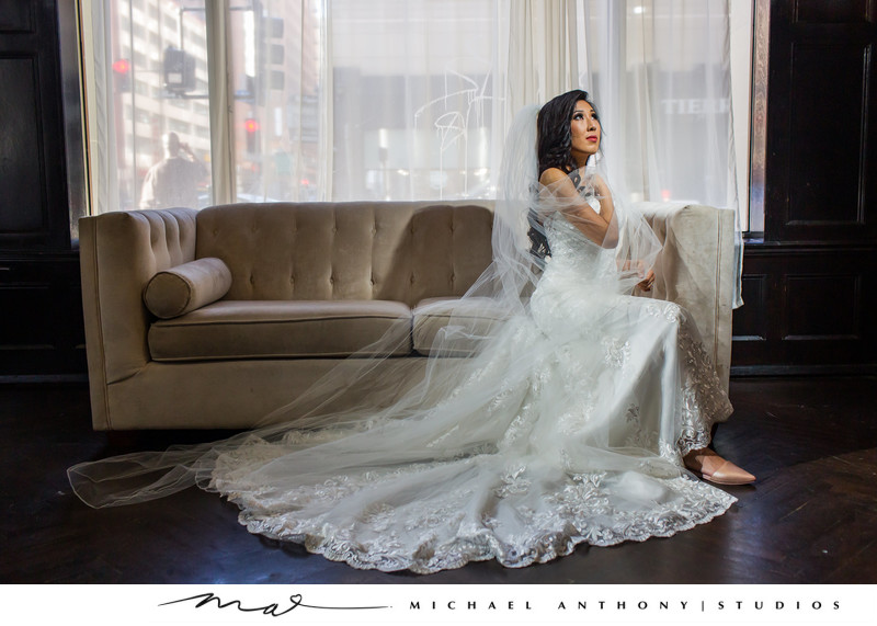 Majestic Downtown Wedding Dress