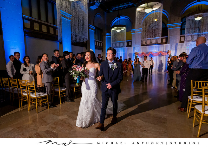 Wedding Ceremony at Majestic Downtown Wedding Ideas