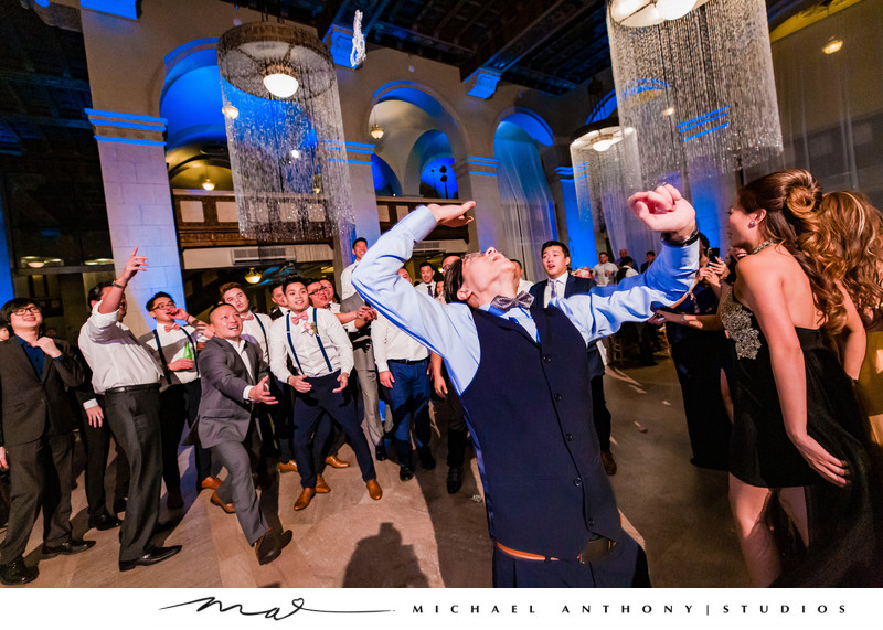 Fun Weddings at Majestic Downtown Wedding