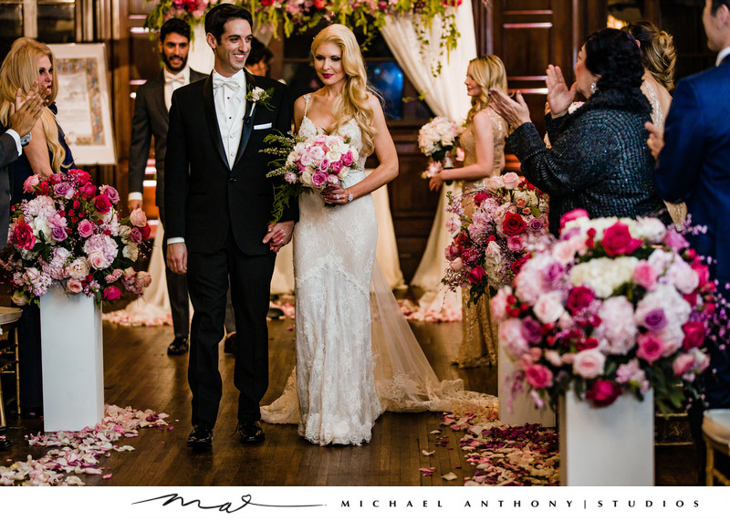 Wedding Ceremony Pictures at Ebell Theatre Los Angeles