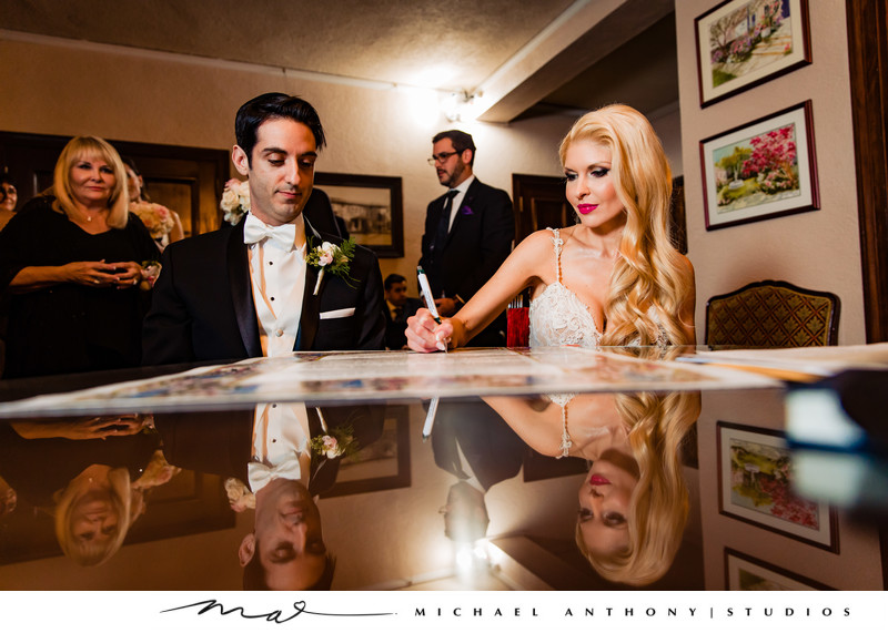 Jewish Wedding at Ebell Theatre Los Angeles