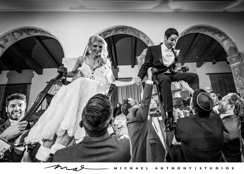 Ebell Theatre Los Angeles Wedding Hora