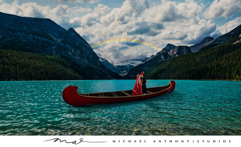 Lake Louise Destination Wedding Photographers
