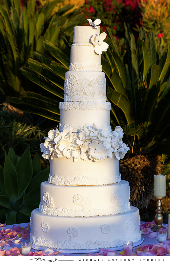 Hummingbird Nest Ranch Wedding Cake