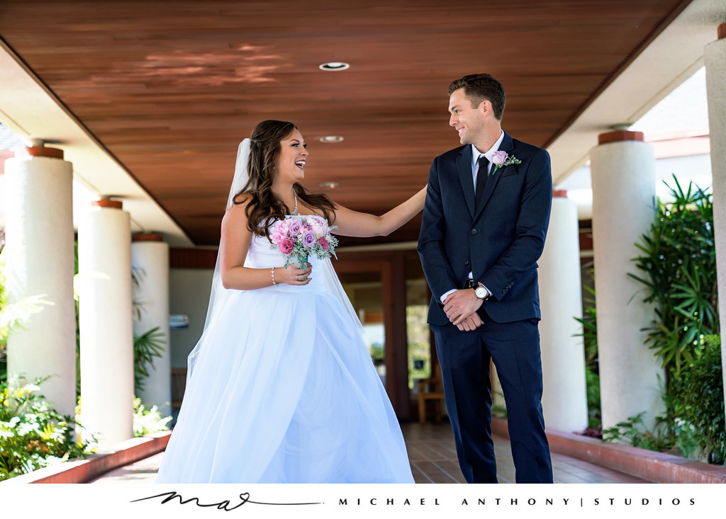 Mountaingate Country Club Wedding First Look