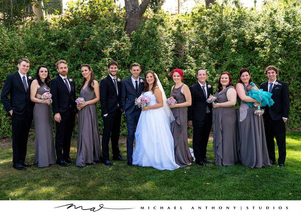 Mountaingate Country Club Wedding Party