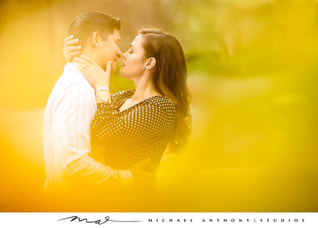 Natural Light Engagement Session at Griffith Park