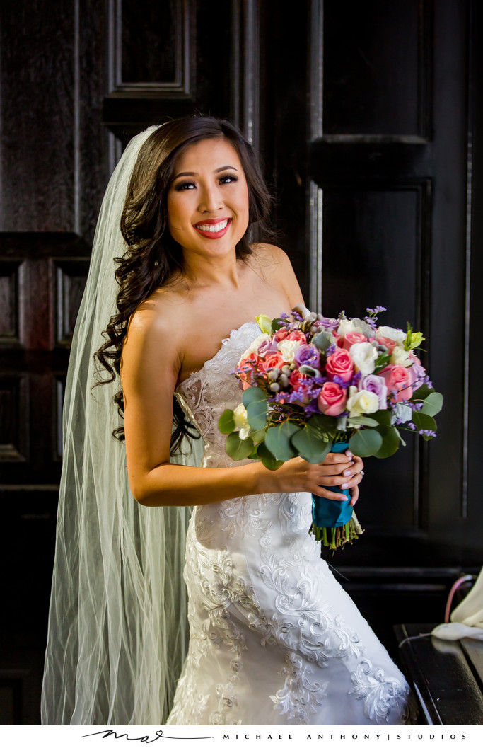 Majestic Downtown Bridal Portrait
