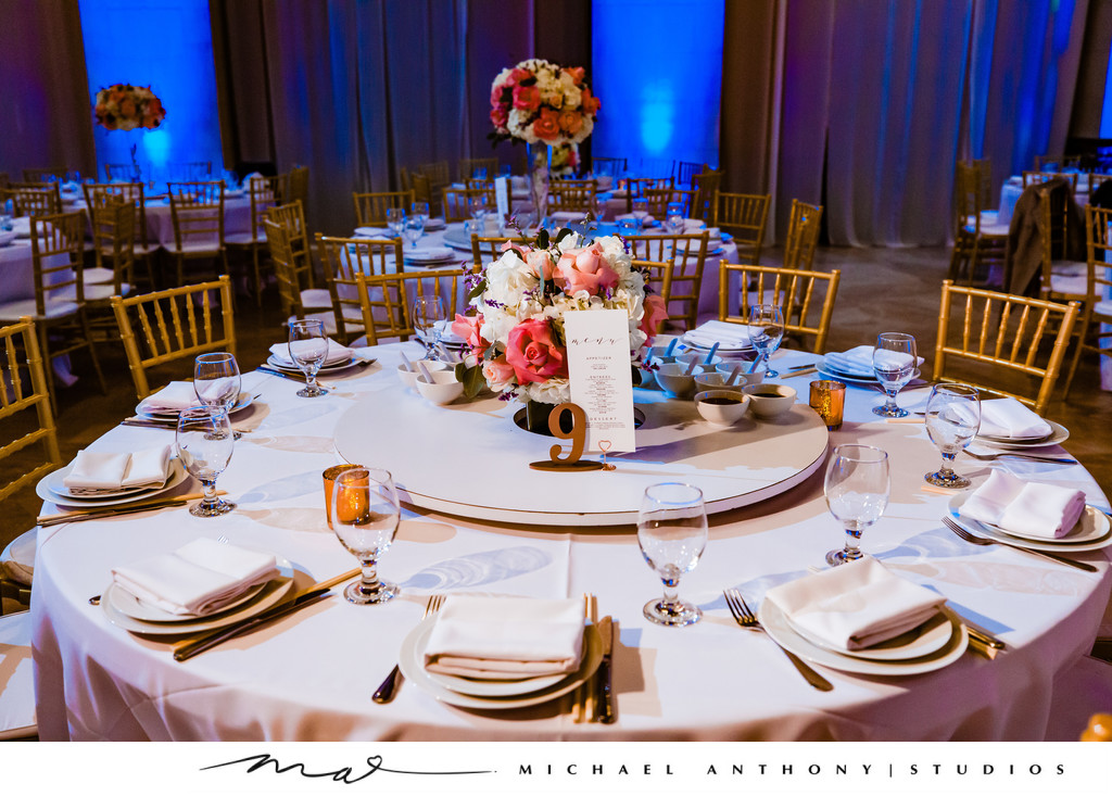Wedding Reception Details at Majestic Downtown Wedding