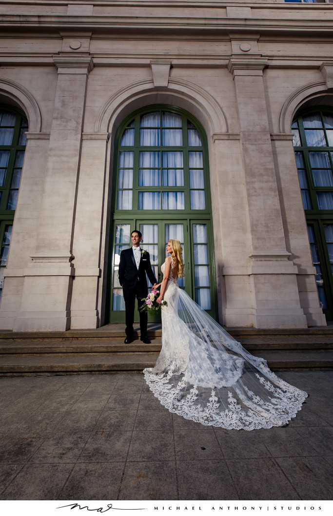 Bridal Picture at Ebell Theatre Los Angeles