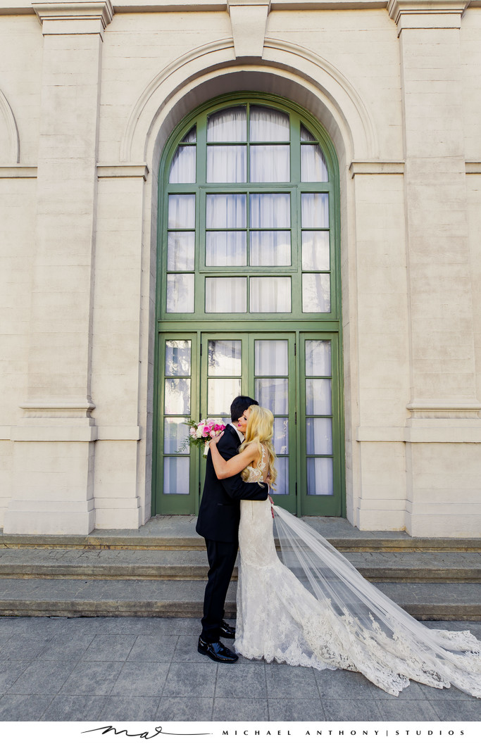 Wedding Pictures at Ebell Theatre Los Angeles