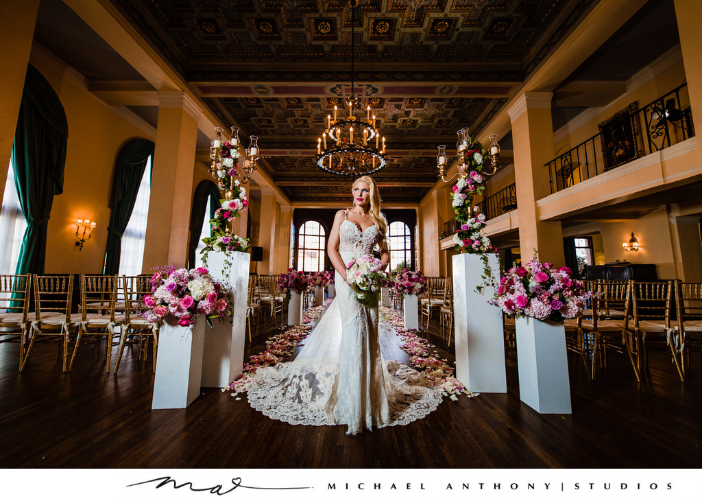 Photos at Ebell Theatre Los Angeles Wedding