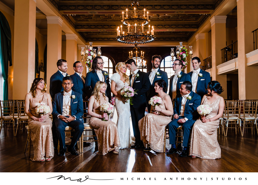 Bridal Party at Ebell Theatre Los Angeles