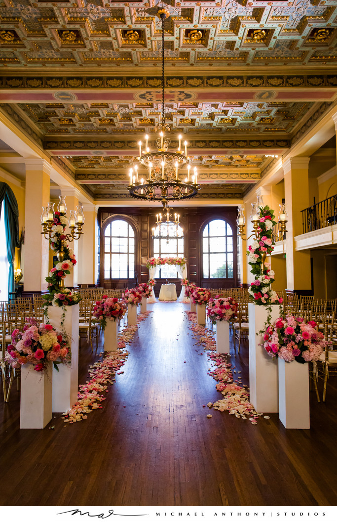 Ceremony Ideas at Ebell Theatre Los Angeles