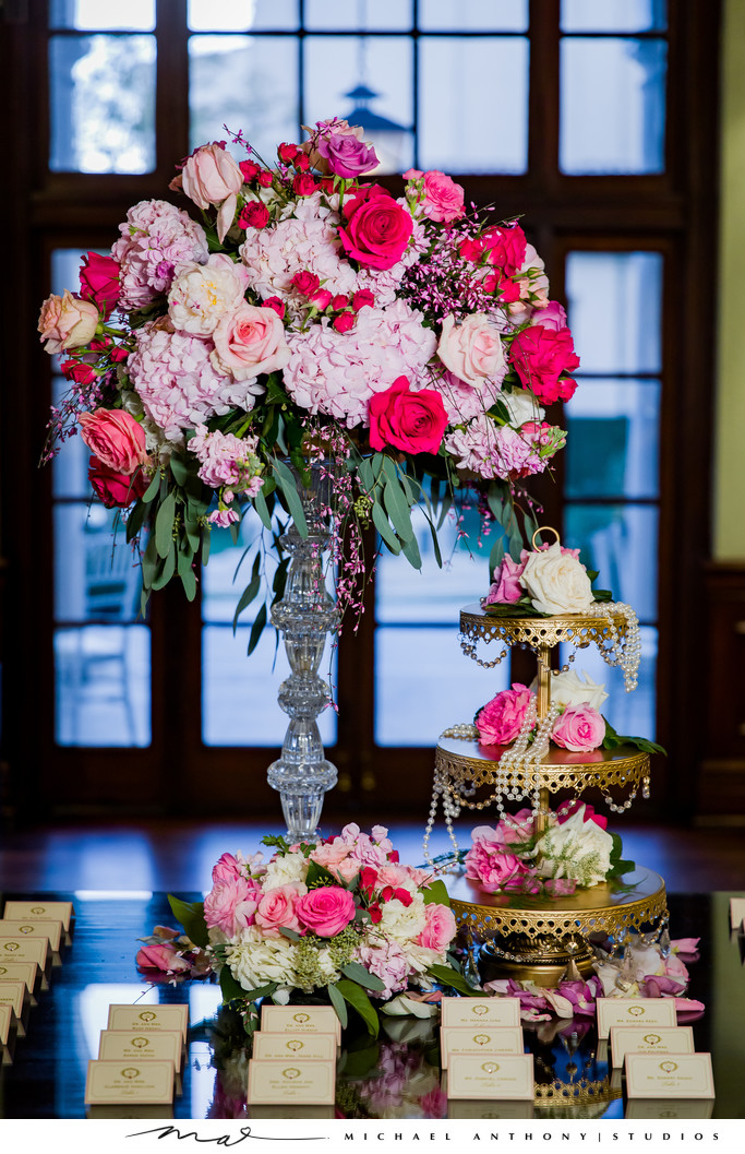 Wedding Flowers inspiration at Ebell Theatre Los Angeles