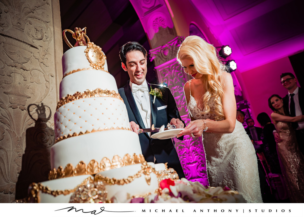 Cake Cutting at Ebell Theatre Los Angeles
