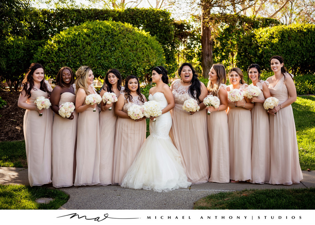 Bridal Party at Four Seasons Westlake Village