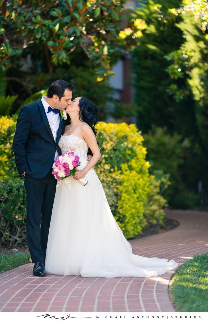 First Kiss at Four Seasons Westlake Village