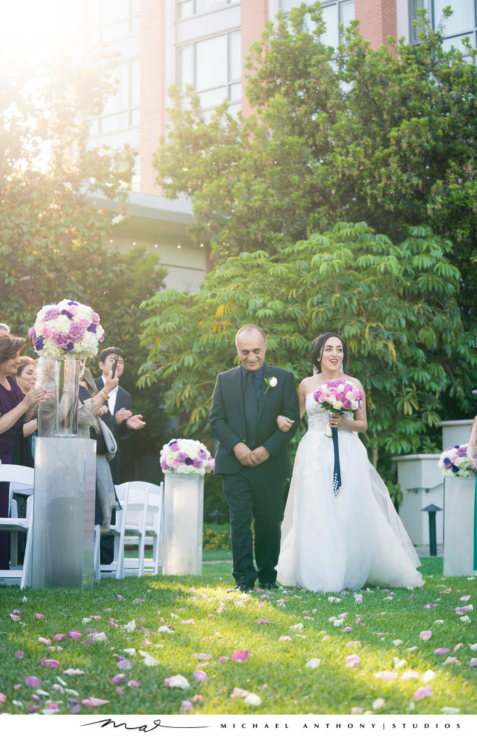 Ceremony Photos Wedding Four Seasons Westlake Village
