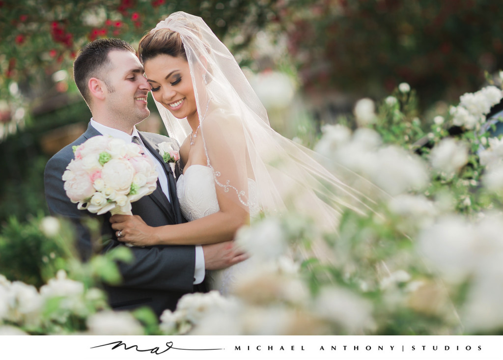 westlake village inn wedding images couple