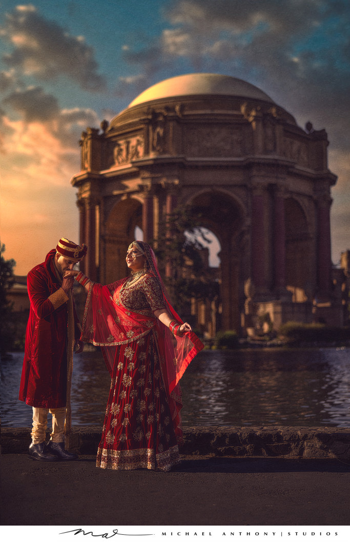 San Francsico Indian Wedding Photography Venues