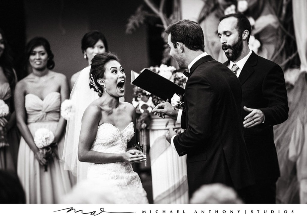 Ceremony: Surprise for Bride