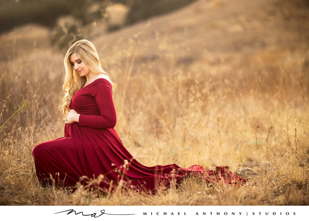 Outdoor Maternity Photography at a Park