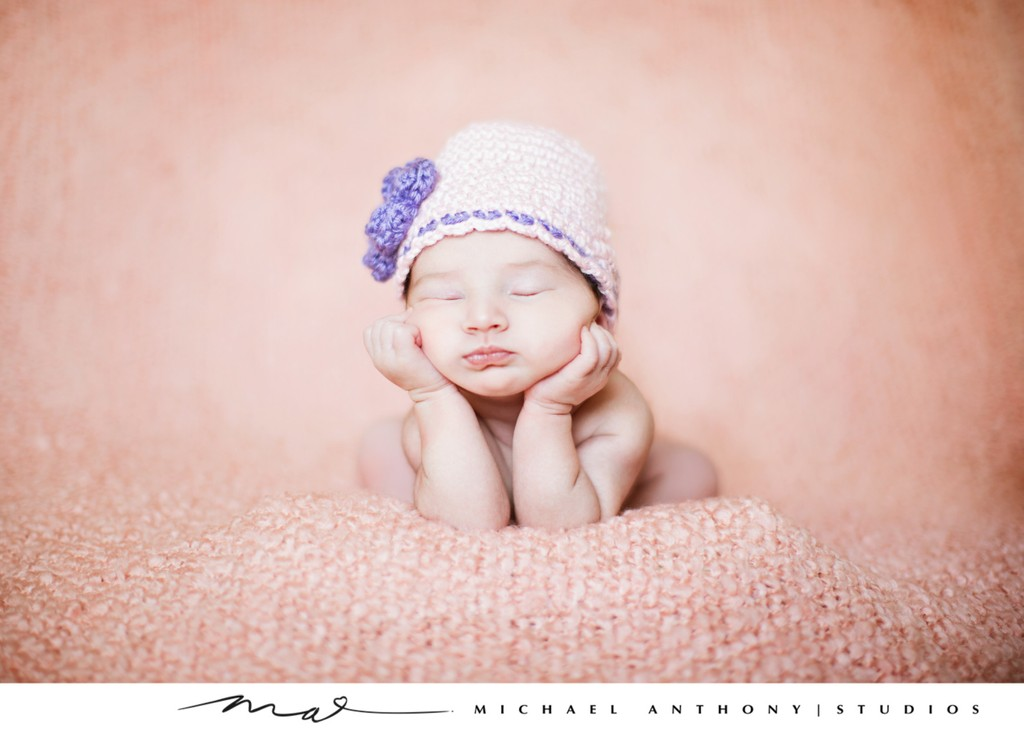 Newborn Photos in Los Angeles Studio