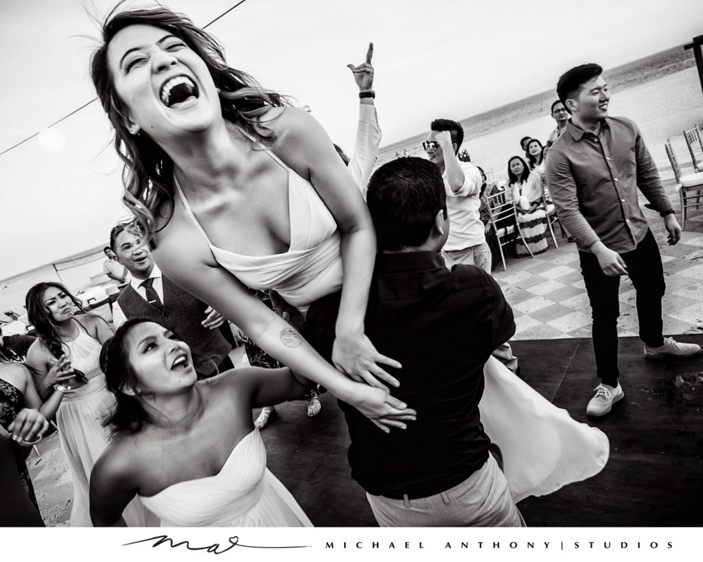 Grand Solmar Land's End Resort Wedding: Fun Photos of Dance Party
