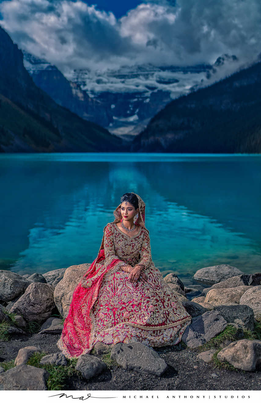 Indian Wedding Photographer Chateau Lake Louise