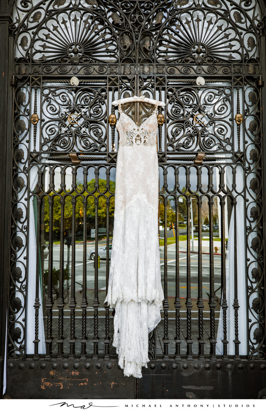 Wedding Dress at Ebell Theatre Los Angeles