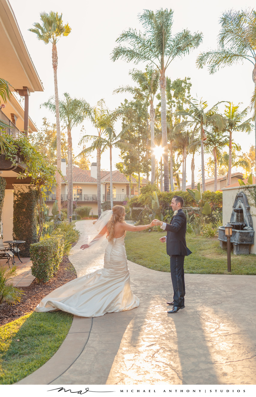 westlake village inn wedding reception