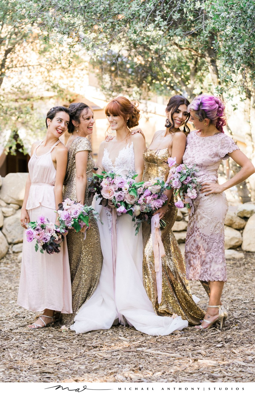 Serendipity Gardens Weddings: Bridesmaids